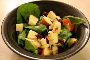 almonds-apples