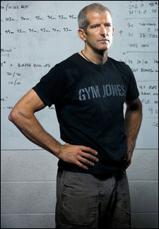 Mark Twight from Gym Jones, Get used to the Rut, Think Differently, Break you Habit and then rebuild